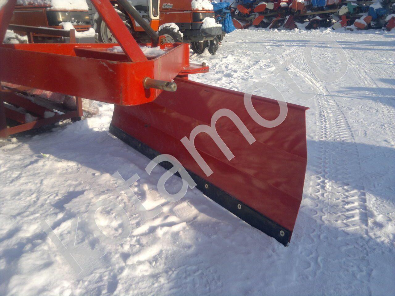 Отвал для снега своими руками для минитрактора